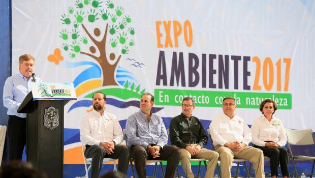 Exhorta gobernador Francisco Vega a cuidar y proteger el Medio Ambiente