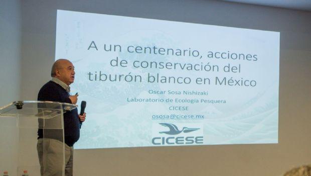 Reconoce la CONANP la investigación con tiburones hecha por Oscar Sosa Nishizaki, investigador del CICESE