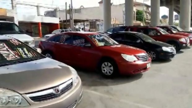 Cae venta de autos 8.5%