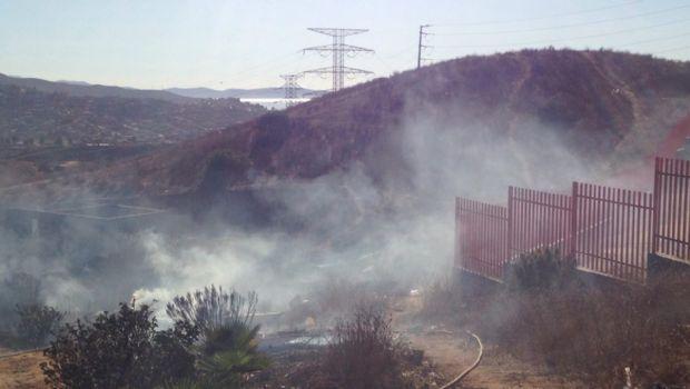Controlan Bomberos incendios forestales