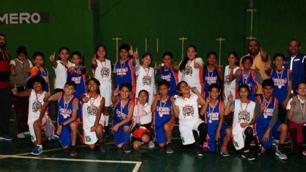 Ganan 'doblete' en baloncesto