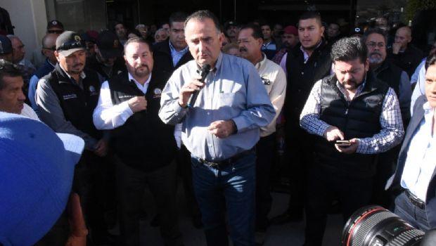 Dialoga alcalde Marco Novelo con personal de base