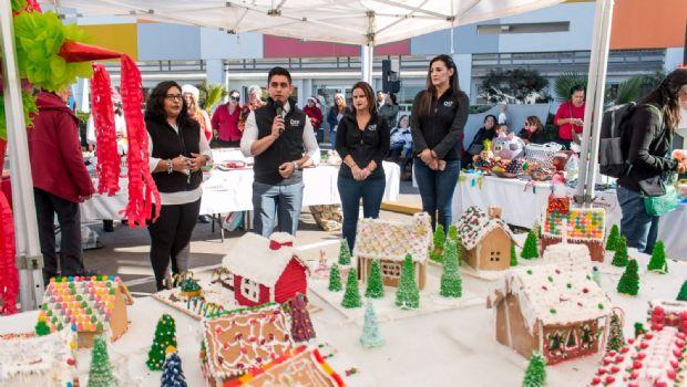 Presenta DIF bazar navideño