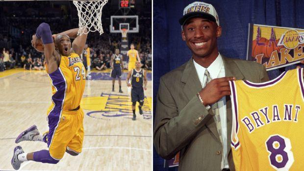 Retiran 8 y 24 de Kobe Bryant