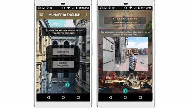 Vinculan con app arte y tecnología