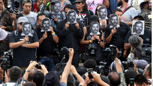 Lideró México en 2017 muerte de periodistas