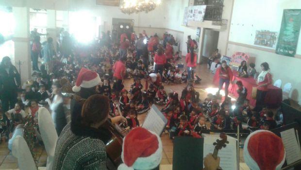 Ofrecen concierto  didáctico a niños