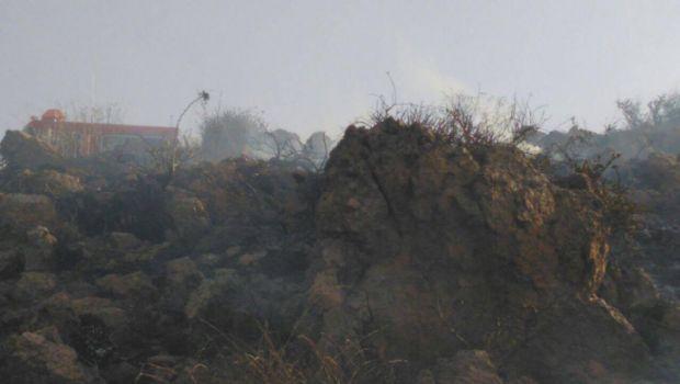 Registra incendio en cerro de Chapultepec