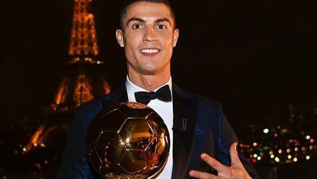 Gana 'CR7' su 5to. Balón de Oro