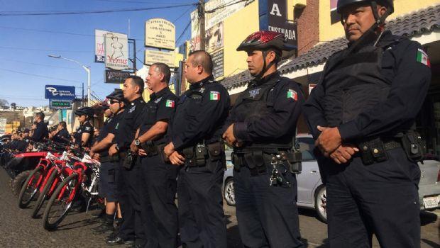 Blinda la Policía zonas comerciales