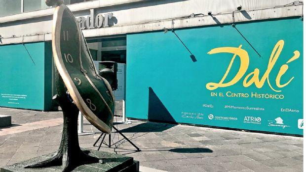 Centro Histórico de la  CDMX acoge a Dalí