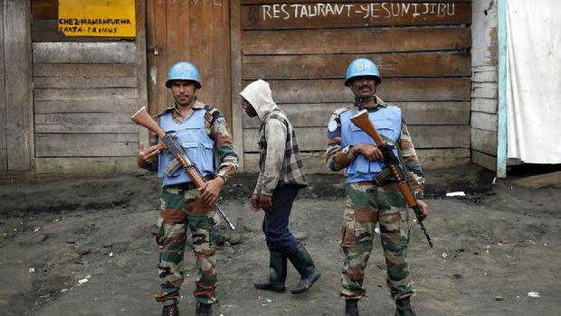 Matan 15 cascos azules en ataques a base del Congo