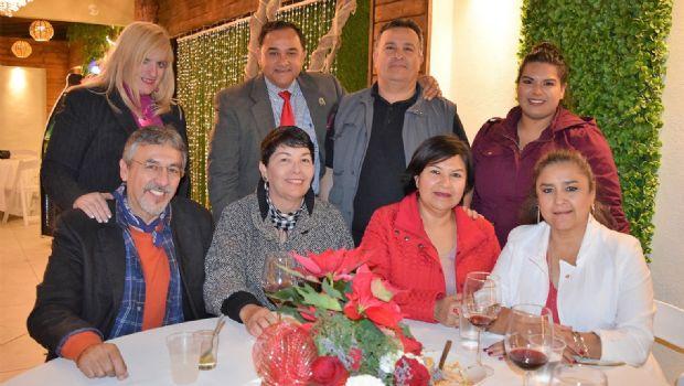 Periodistas celebran Navidad
