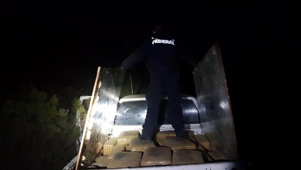 Decomisan 410 kilos de droga
