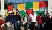 Levantan bloqueo en las 2 escuelas; llega a un acuerdo