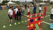 """Se divierten niños en  """"Feria de motricidad"""""""