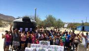 Llevan apoyos sociales a familias de El Barril