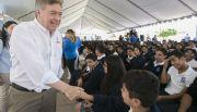 Encabeza gobernador Francisco Vega ceremonia de inicio de ciclo escolar 2017 - 2018