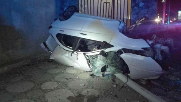 Muere joven en accidente vehicular
