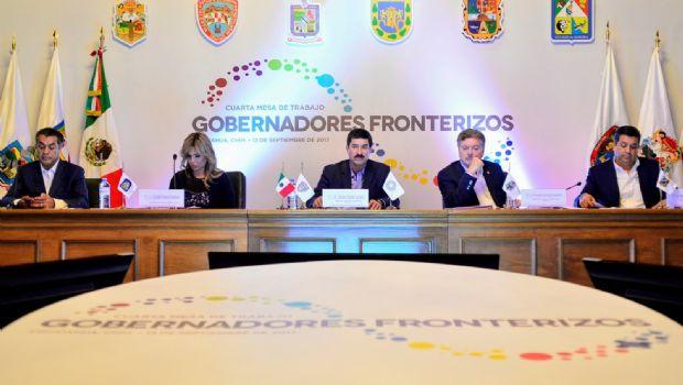 Sostienen gobernadores  fronterizos reunión
