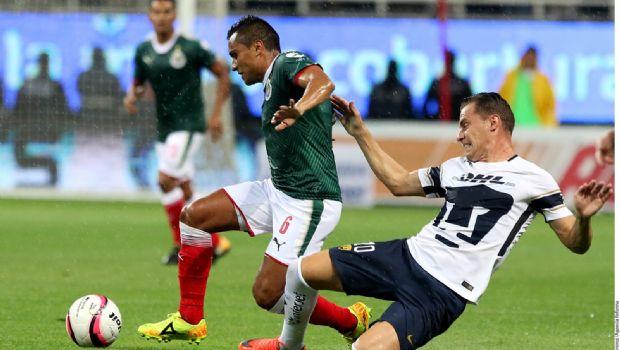 Arañan Pumas un punto ante Chivas