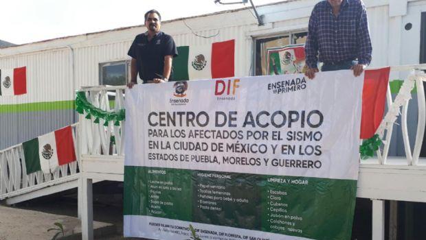 XXII Ayuntamiento y DIF Ensenada invitan a la población a continuar con donativos a los centros de acopio