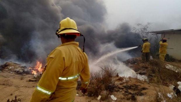 Deja devastación incendio forestal