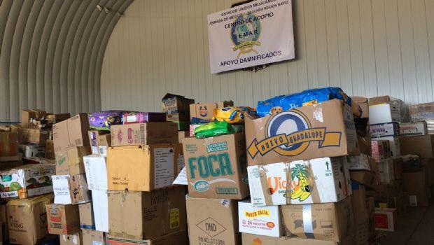 Llevarán donativos a afectados por sismo