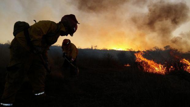 Ocurren incendios en víspera de 2018