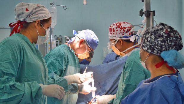 Recibieron 60 niños cirugías de corazón