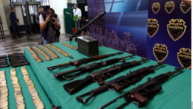 Queda impune tráfico de armas