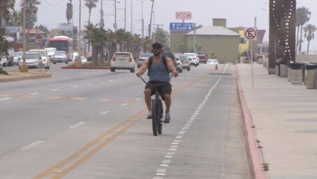 Polemizan por ciclistas, peatones y conductores