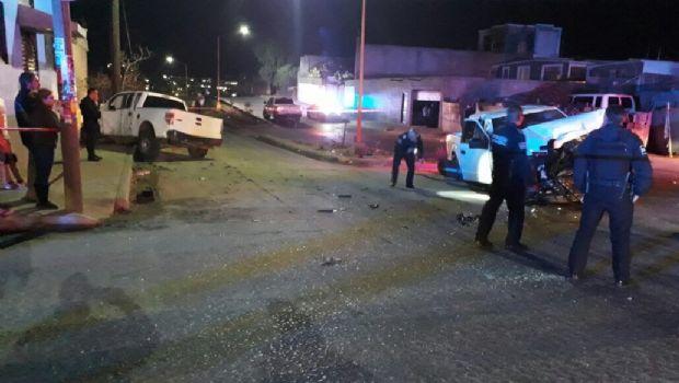 Chocan patrullas; lesionado director de la Policía Municipal y 3 agentes