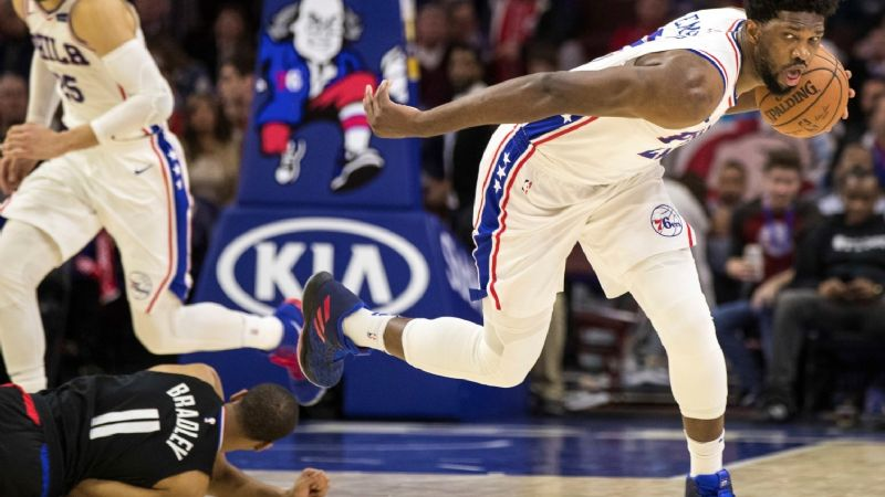 Sixers le pegan 112-98 a Clippers