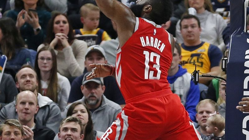 Harden y Rockets, imparables
