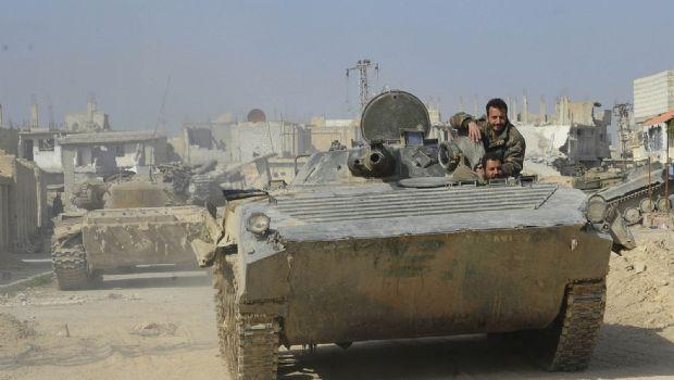 Avanzan sobre Ghouta