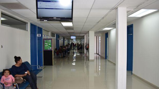 Amplían consultorios en hospital del puerto
