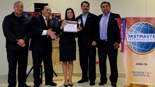 Premia Toastmasters a oradores destacados