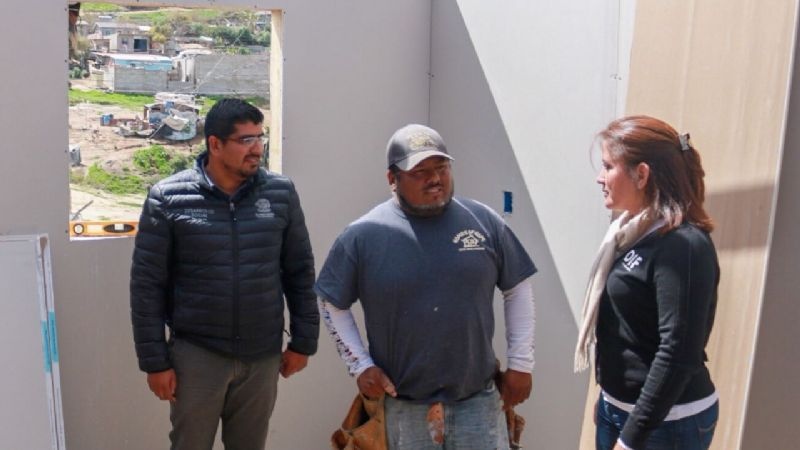 Construye House Of Hope casas para familias en Maneadero