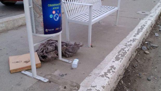 Acusan porteños basura acumulada