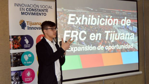 Joven tijuanense  participa en FIRST
