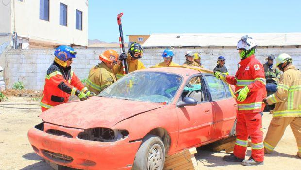 Aprenden técnicas para rescatar vidas