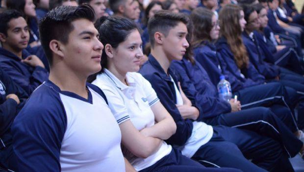 Promueven valores  entre los jóvenes