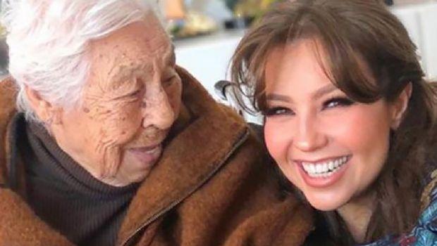 Abuela de Thalía se recupera