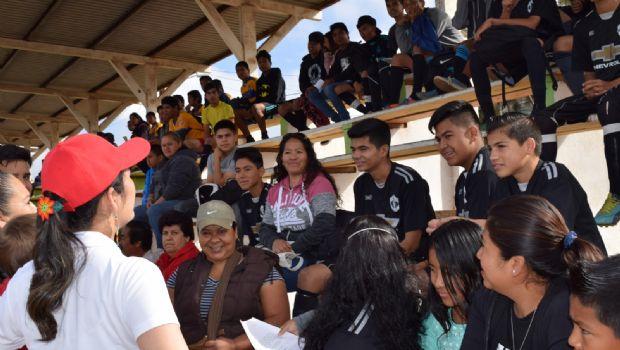 Nuestro deber es preocuparnos y ocuparnos de las necesidades de los demás: Génesis Márquez