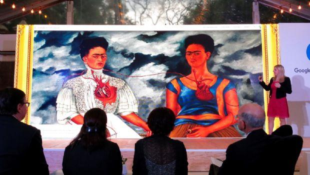 Da Google trato  estelar a Frida