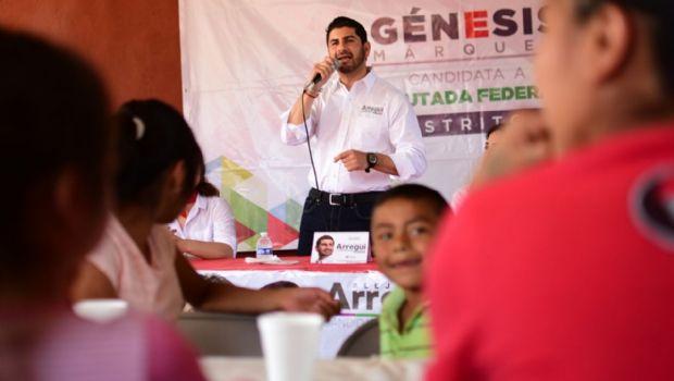 Salud y deporte objetivo por San Quintín: Arregui