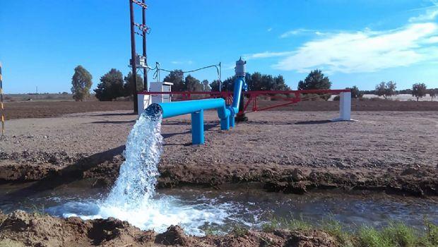 Distrito de agua;  solución al agro en la zona sur