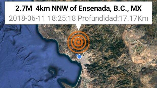 Informa Protección Civil sobre sismo de 2.8°