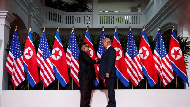 Arranca cumbre de Trump y Kim